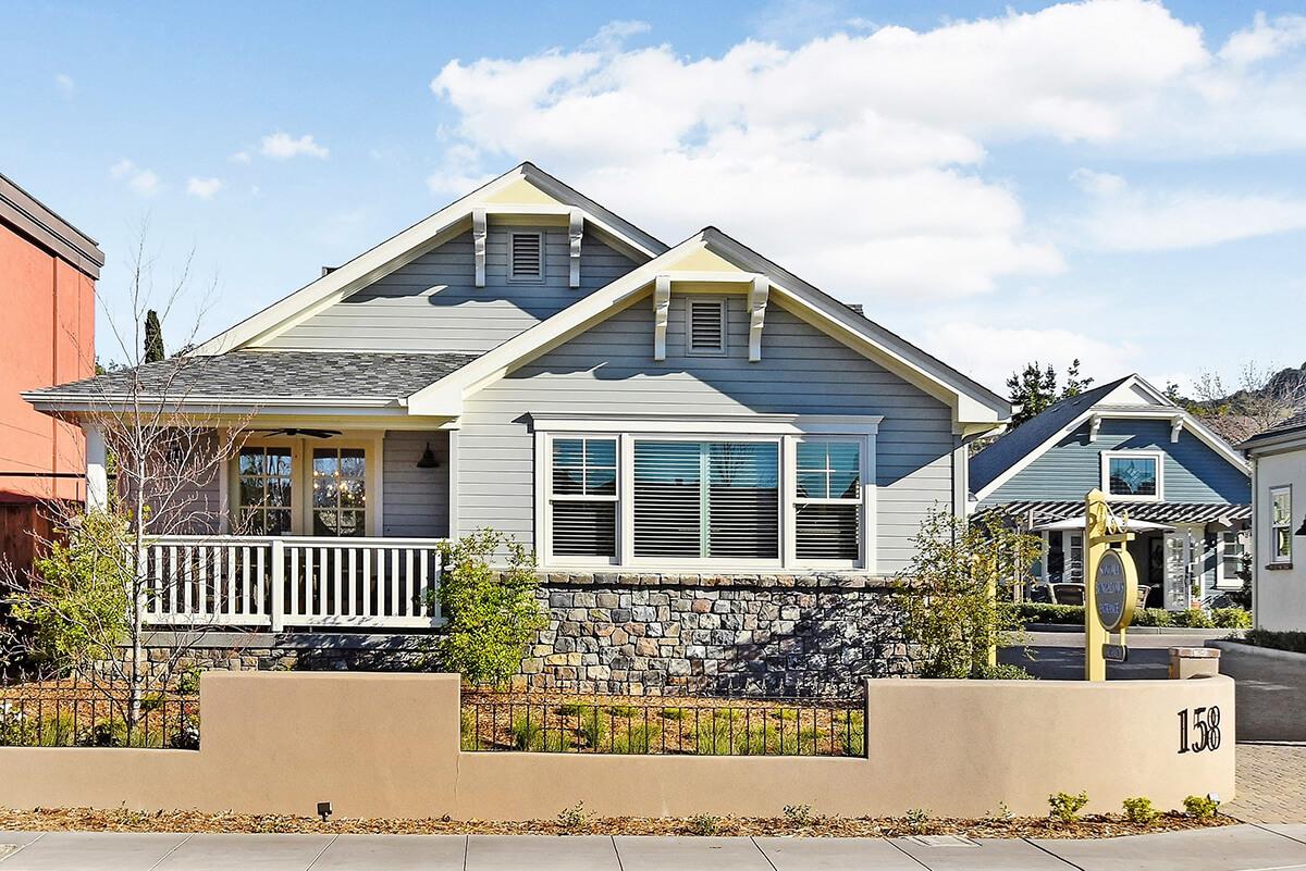 Sonoma Bungalows vacation rental building